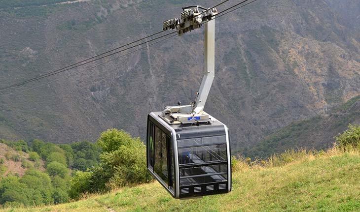 تلهکابین بالهای تاتو در ارمنستان