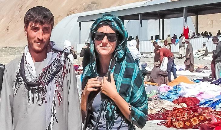 سفر دختر نروژی به افغانستان