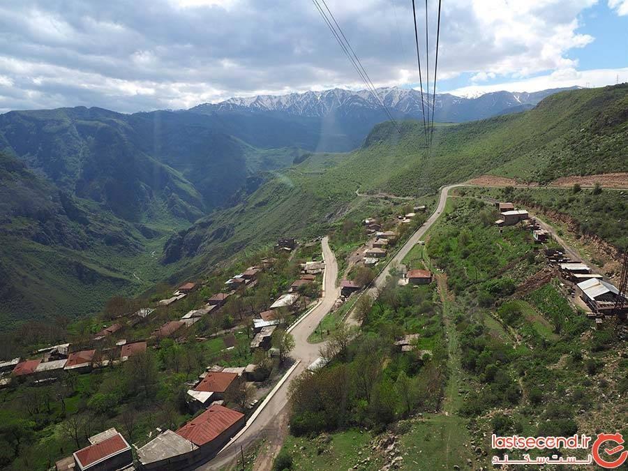 تلهکابین بالهای تاتو ارمنستان