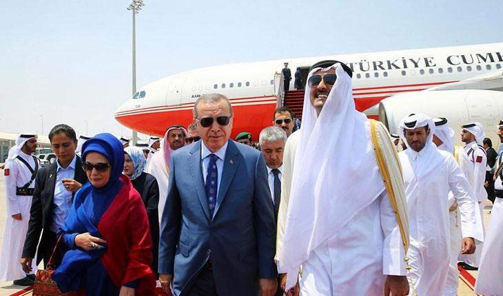 هدیه نیم میلیارد دلاری امیر قطر به رئیس جمهور ترکیه