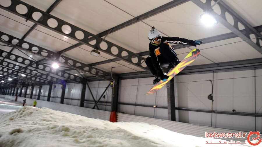 بزرگترین پیست اسکی مصنوعی دنیا