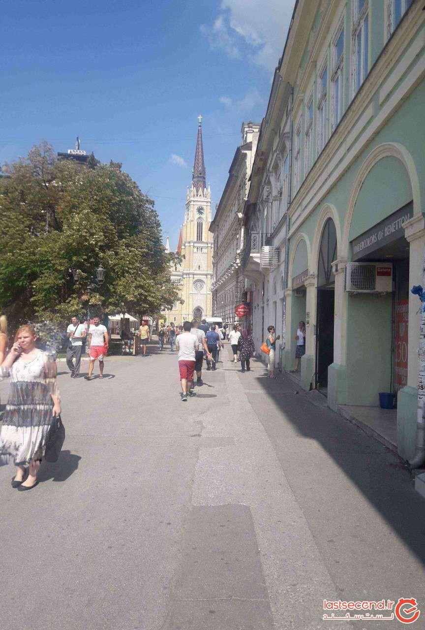 به سمت میدان آزادی(لیبرتی) شهر نووی ساد