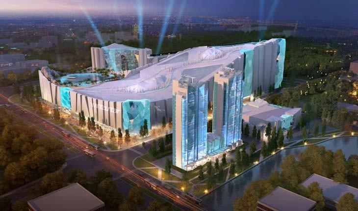 بزرگترین پیست اسکی مصنوعی دنیا در چین ساخته میشود