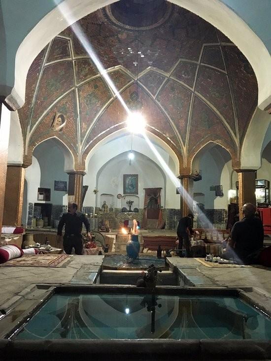 چایخانه و رستوران حمام خان