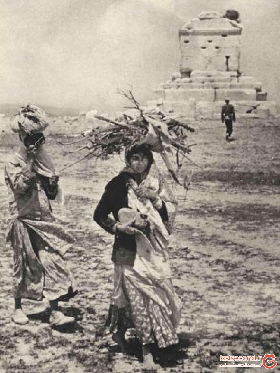 آرامگاه کوروش در زمان قاجار