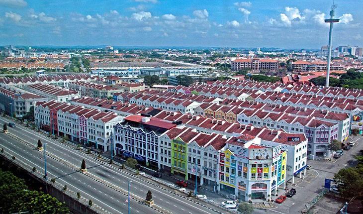 کشف شهر ملاکا در مالزی