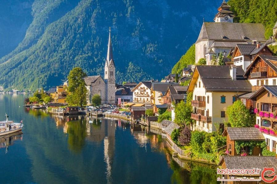 هال اشتات در اتریش
