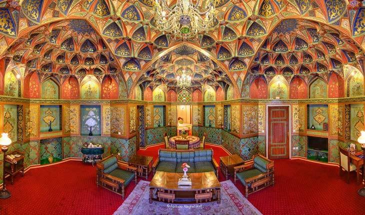 هتل عباسی، زیباترین هتل خاورمیانه در ایران