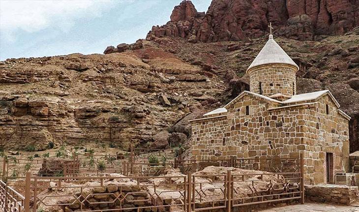 کلیسای چوپان، عبادتگاهی در جوار رودخانه ی ارس