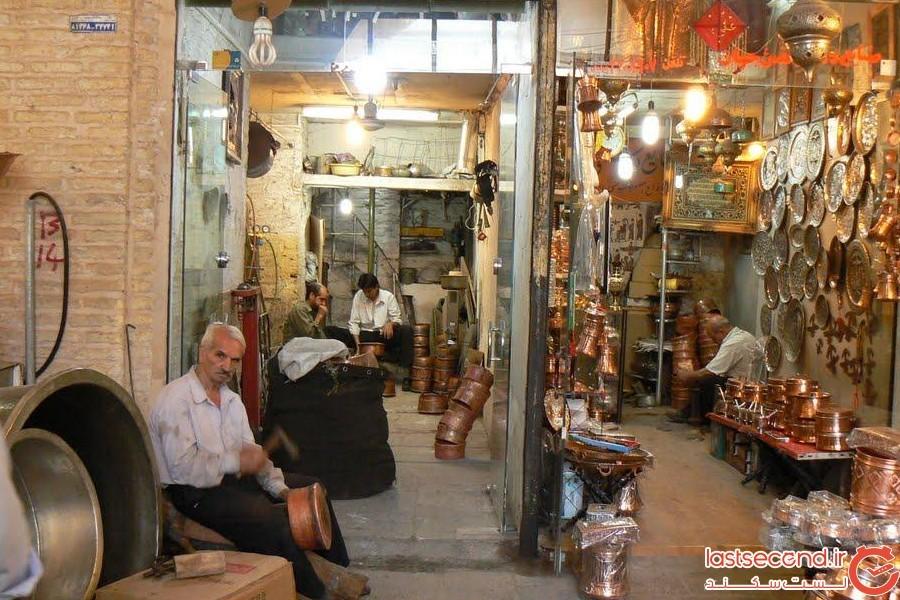 مسگری در قزوین