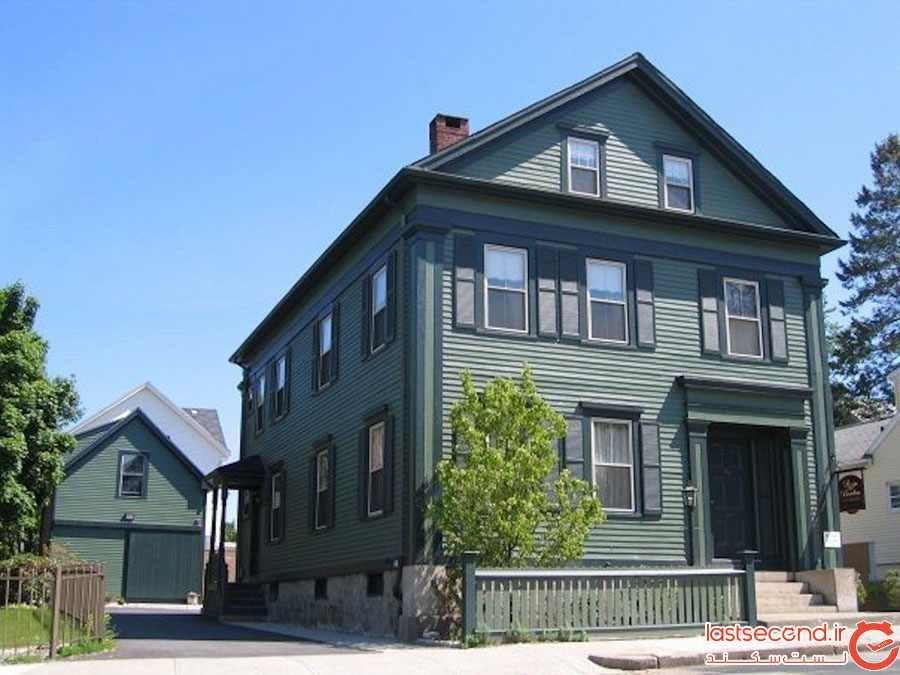 خانه Lizzie Borden؛ ماساچوست