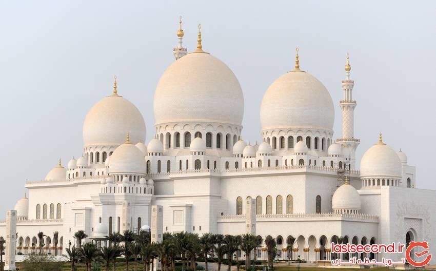 مسجد جامع مرکزی شیخ زائد