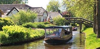 خیتورن (Giethoorn) سوار بر قایق رویا