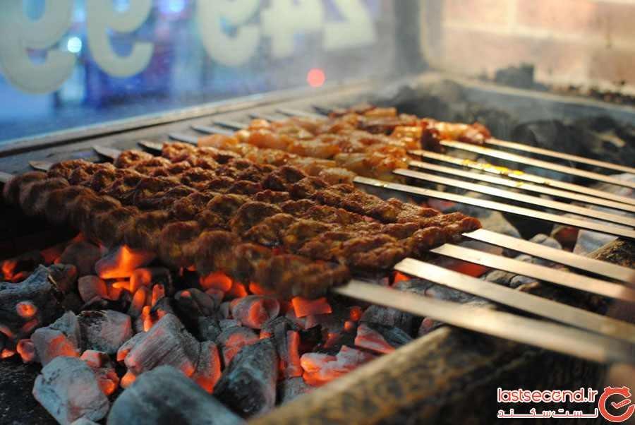 کباب (Kebap) غذای خیابانی استانبول