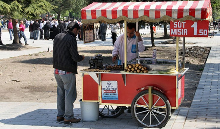 معرفی غذاهای خیابانی استانبول