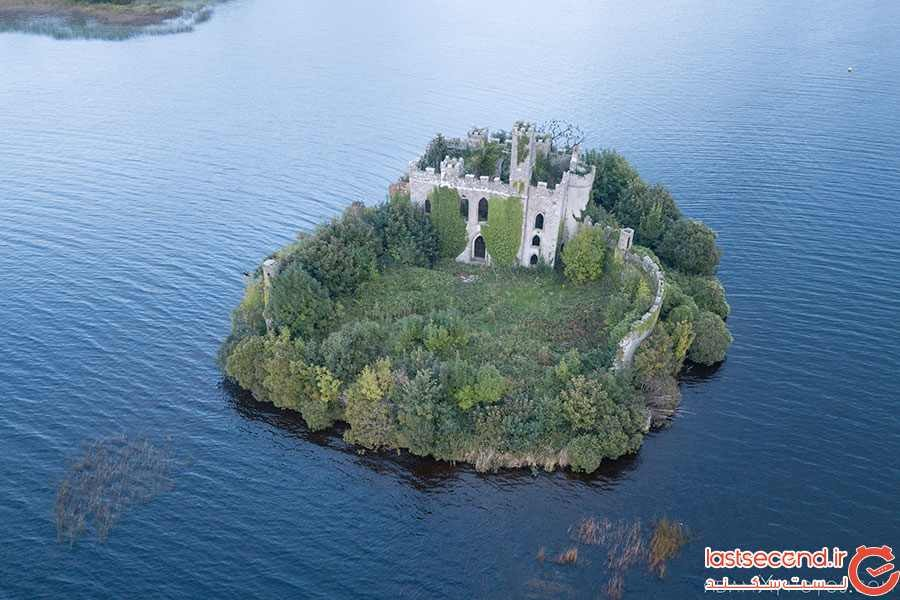 قلعه تاریخی متروکه در ایرلند