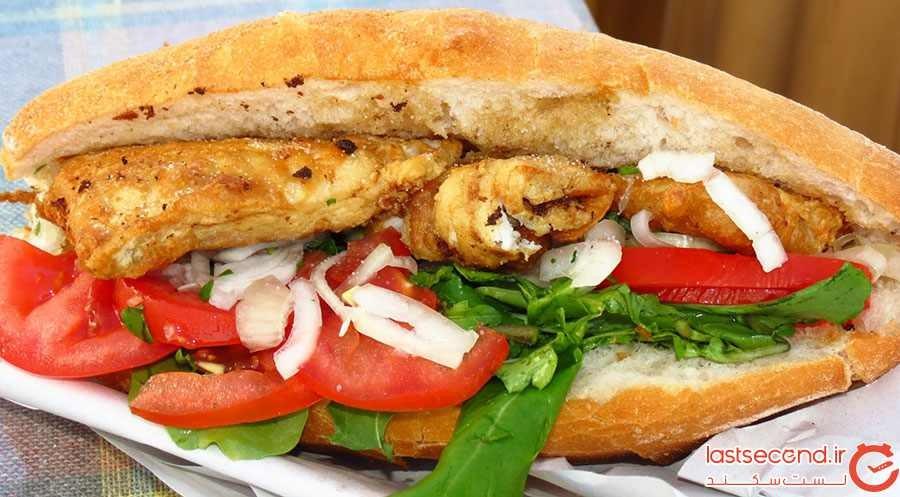 ماهی با نان (Balık ekmek)