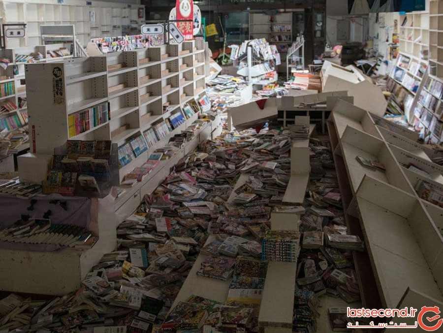 فروشگاه متروک در فوکوشیما - ژاپن