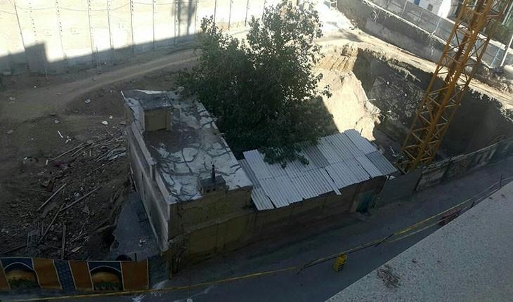 مسجد سیدان، کوچکترین بنای تاریخی مشهد فروریخت