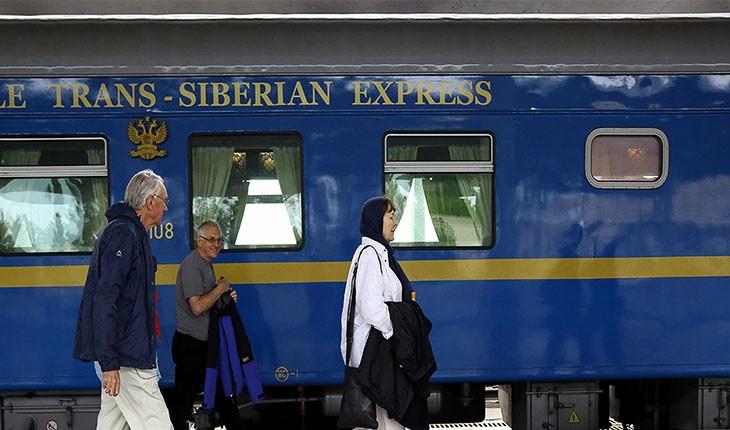 راه اندازی نخستین ایستگاه قطار گردشگری راه ابریشم