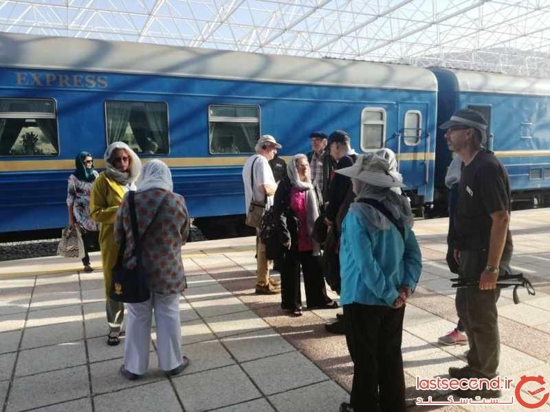 قطار گردشگری راه ابریشم