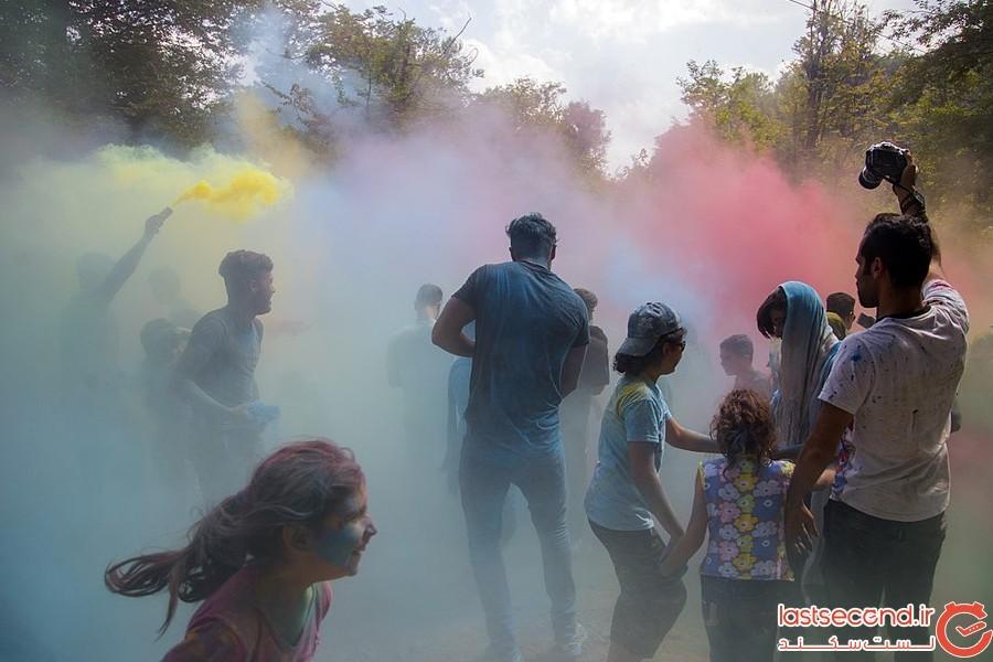 فستیوال رنگها در مازندران