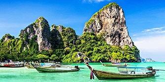 سفر به سرزمین فیل های سفید، تایلند