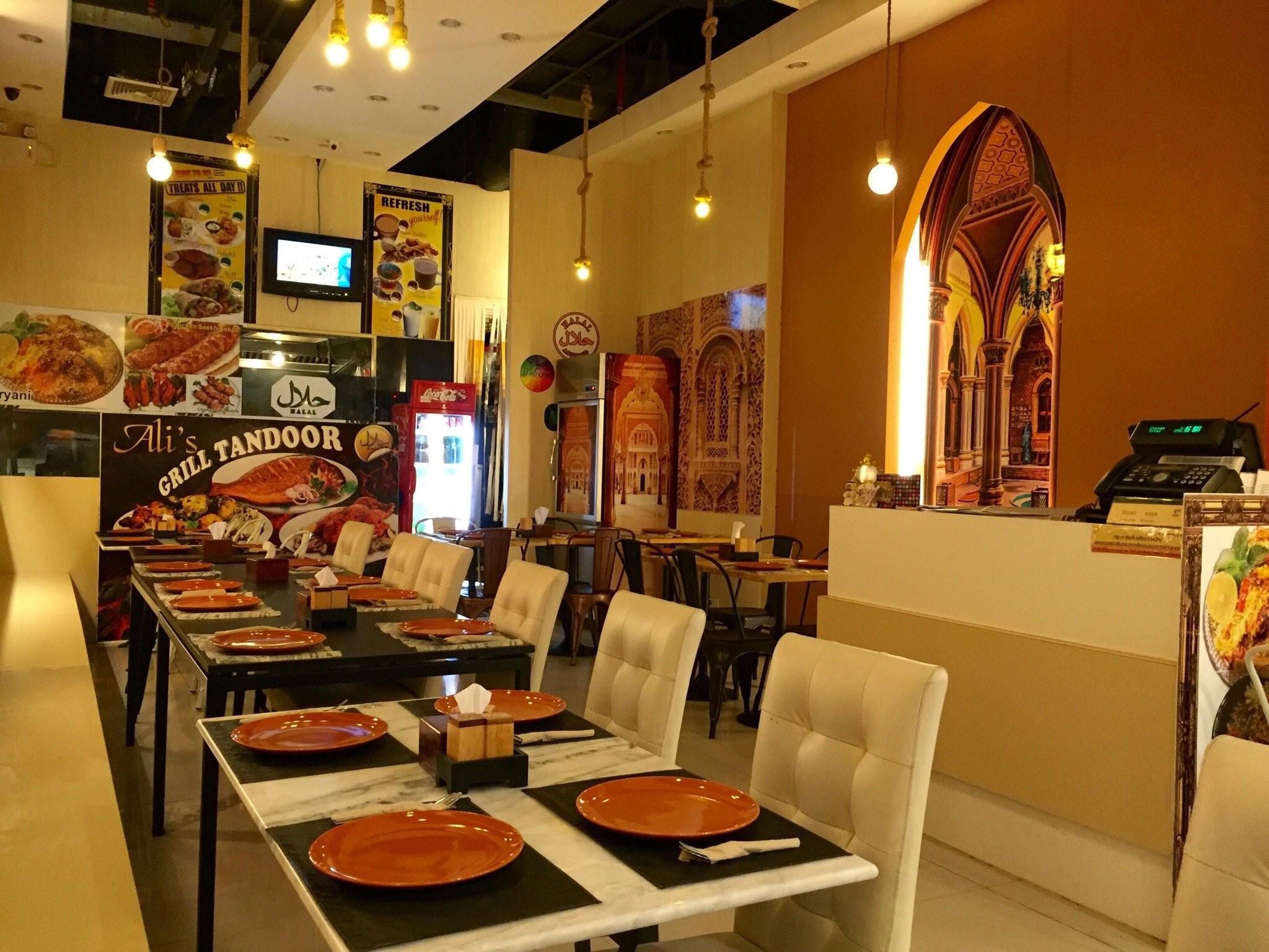 غذاهای هندی عربی تایلندی علی