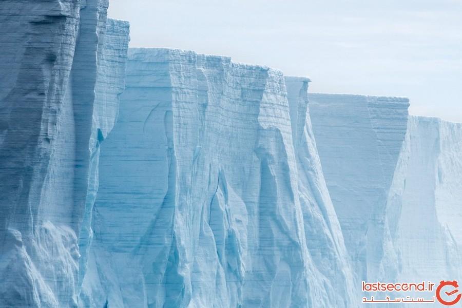 صدایی عجیب از قطب جنوب