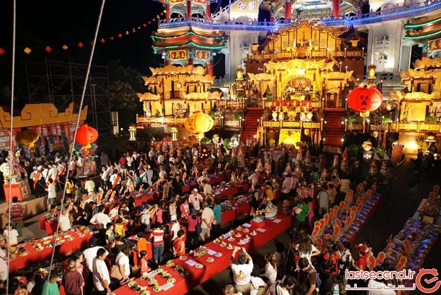 عید ارواح گرسنه در چین