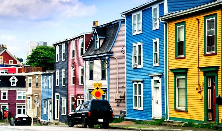 رنگارنگ ترین محله های دنیا