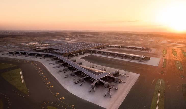 فاز نخست بزرگترین فرودگاه دنیا در استانبول افتتاح شد