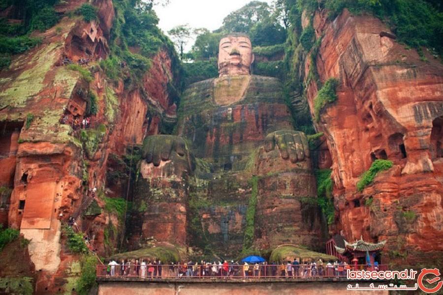 مجسمه بودای بزرگ در چین