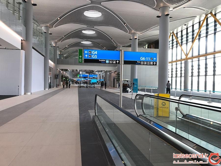 بزرگترین فرودگاه دنیا در استانبول