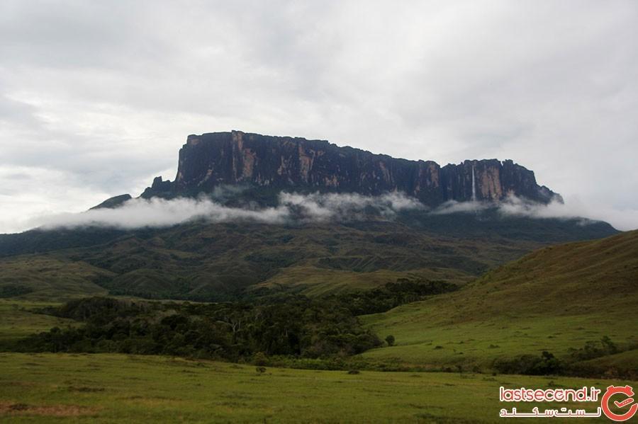 کوه رورایما در آمریکای جنوبی