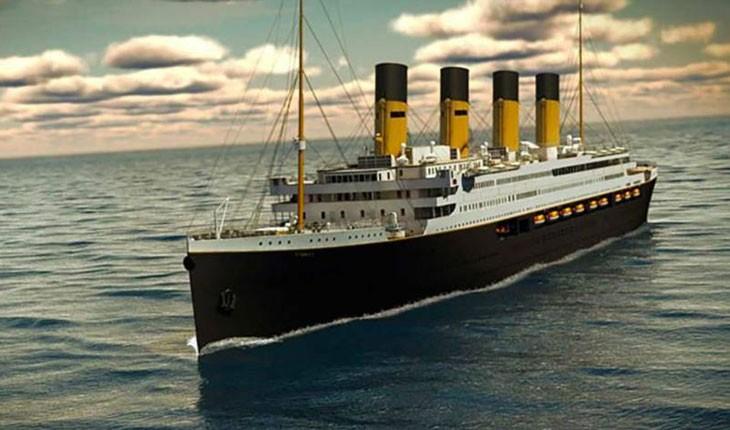 کشتی تایتانیک دوباره ساخته می شود