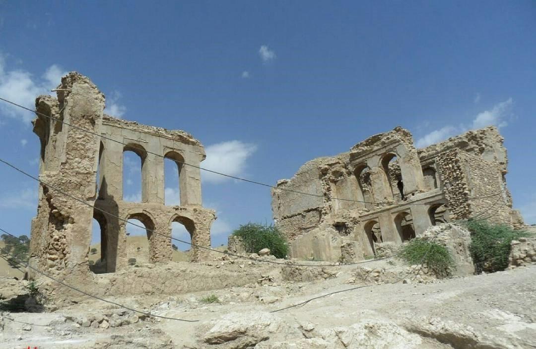 قلعه دیشموک تنها راز تاریخی شهر دیشموک
