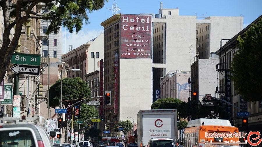 هتل نفرین شدهی سیسیل لس آنجلس