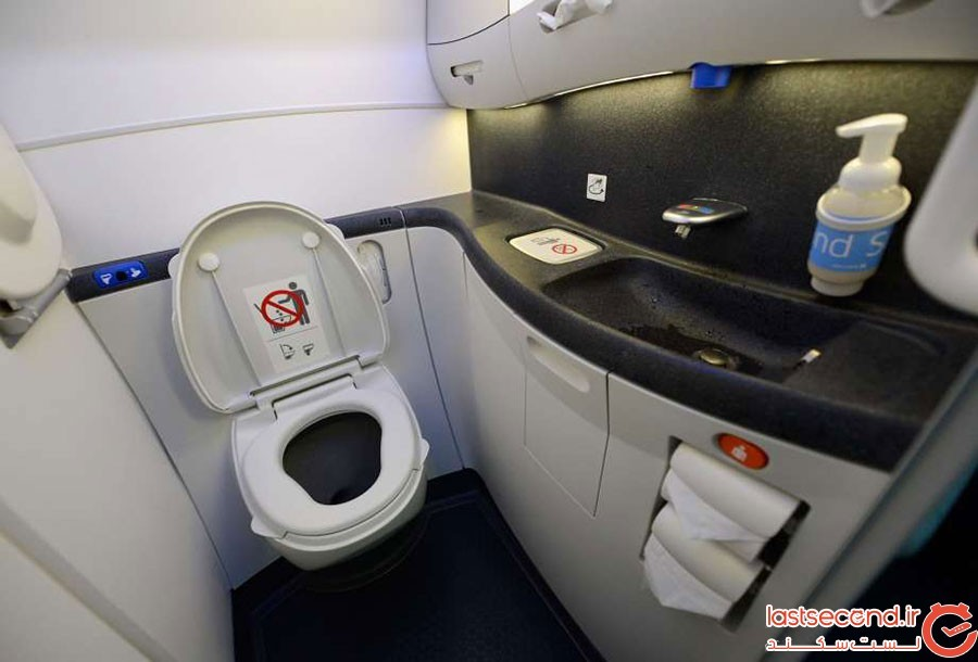 خودکشی در دستشویی هواپیما