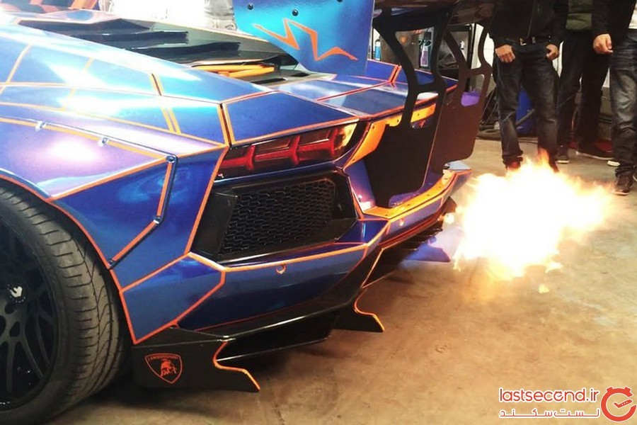 وجود اتومبیل های شعله ور در آفریقای جنوبی