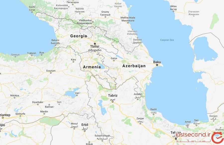 سفر زمینی با خودروی شخصی به گرجستان از ارمنستان و ترکیه