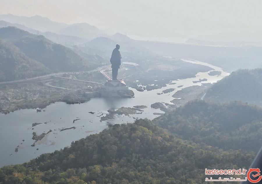 بلندترین مجسمه دنیا