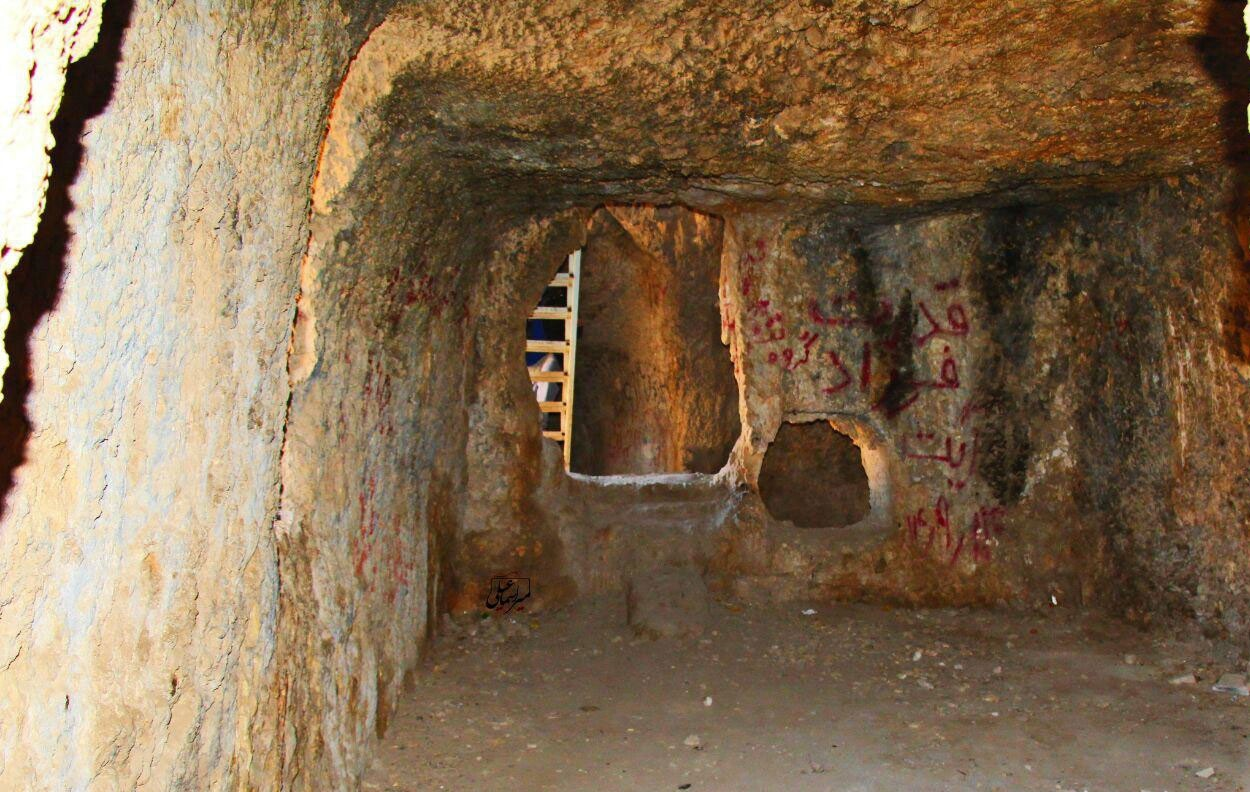 غار کوگان خرم آباد، شگفتی انسان در طبیعت