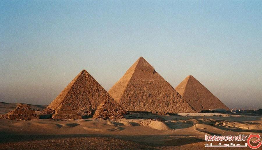 سنگهای اهرام مصر چگونه جابجا میشدند؟