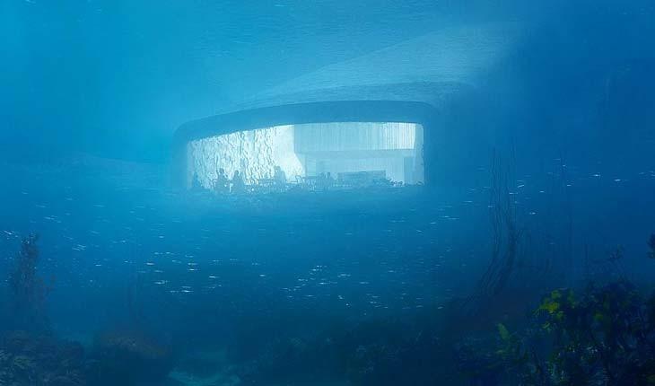 اولین رستوران زیرآبی اروپا به زودی افتتاح میشود