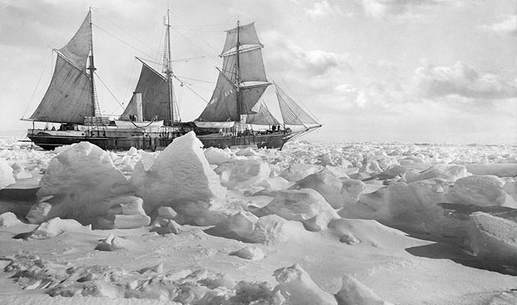 خاطرات نبرد در کشتی اندورنس با یخهای قطب جنوب