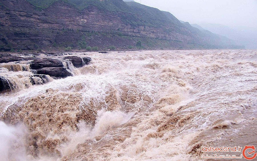 هوکو، آبشار زرد چین