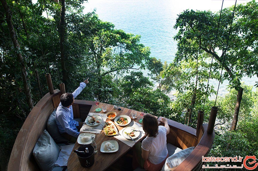 رستوران درختی تایلند