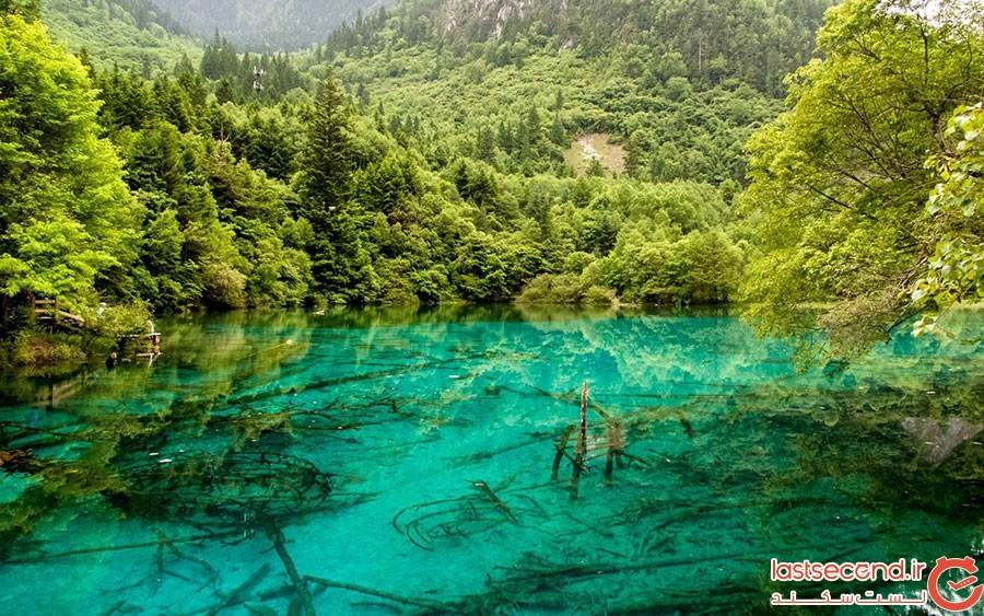 دریاچه پنج گل، پارک ملی جیوژیو در چین