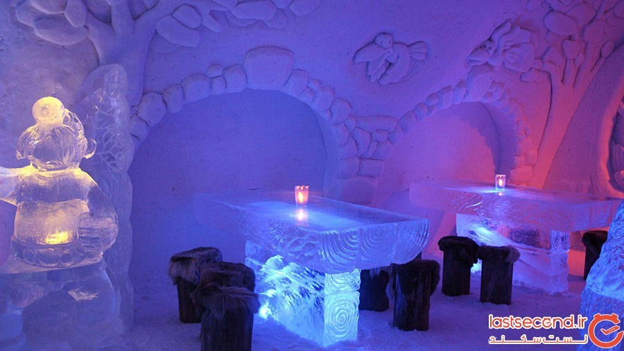 رستوران قصر یخی فنلاند